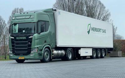 Nieuwe Scania op LNG voor Herbert Sas • TTM.nl