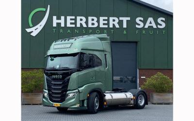 Transport Online – Herbert Sas Transport & Fruit is met IVECO S-WAY NP klaar voor Bio-LNG