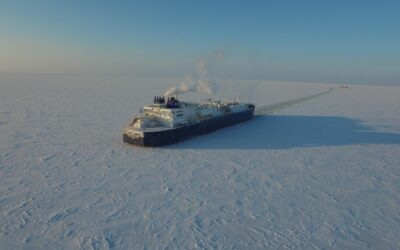 Tanker trotseert Arctische winter | EOS Wetenschap