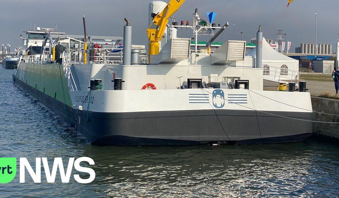 Antwerpse haven doopt eerste bunkerschip waar schepen LNG kunnen tanken