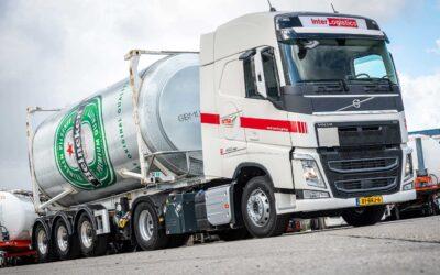Inter-Logistics kiest voor vijf FH LNG-trekkers en zes FH I-Save-trekkers