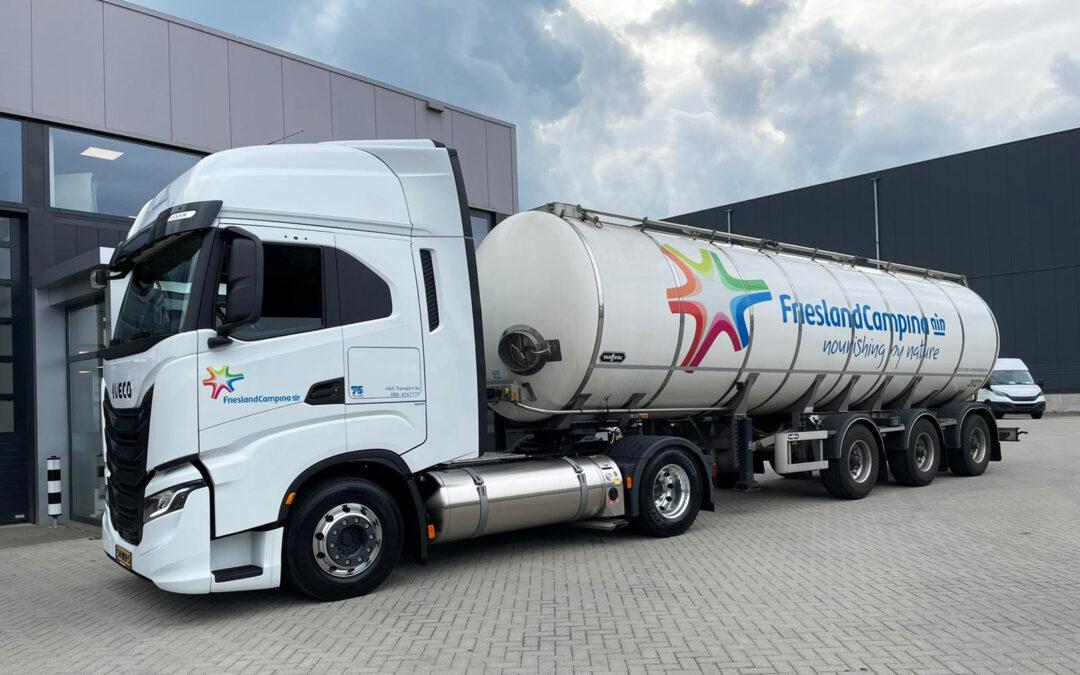 H&S Group en Friesland Campina onderweg met Iveco op LNG • TTM.nl