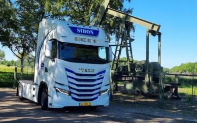 Iveco op LNG biedt voordelen voor Sibon Transport