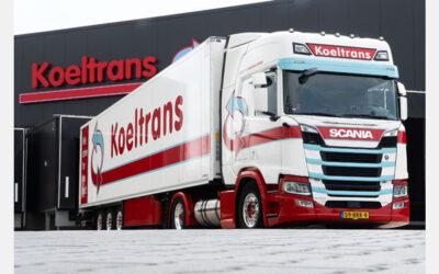 Wagenpark Koeltrans groeit met 20 Scania LNG-trekkers